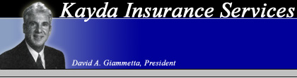 Kayda Insurance Services - David A. Giammetta, President